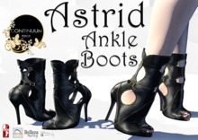 Continuum Astrid Ankle Boots