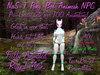NaS-T Pony Bot Animesh NPC Animated Rigged mesh Greeter