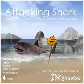 :: 2Xtreme :: Shark  alert box v4.0