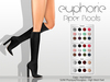 Euphorie - Piper Boots - Slink High Feet - Physique/ Hourglass