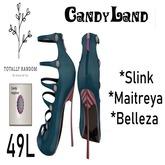 V4 Single Candyland collection Aqua Mint