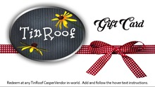 [TinRoof] Gift Card (Empty)