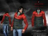 A&D Clothing - Jacket -Edmund- Red-Forest