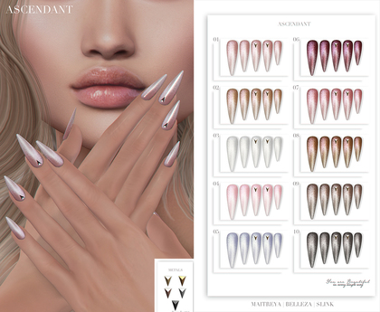 Ascendant - Pearly Bento Nails Fatpack
