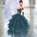 ::TD:: Princess Santa Gown with Appliers ~ Navi