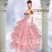 ::TD:: Princess Santa Gown with Appliers ~ Pink