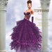 ::TD:: Princess Santa Gown with Appliers ~ Purple