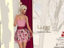 LUXE Paris POINSETTIA Dress