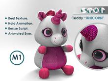 Romantic gift - Teddy Unicorn