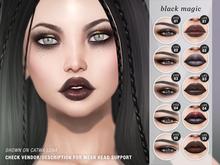 "alaskametro<3 ""Black Magic"" makeup palette - Catwa"