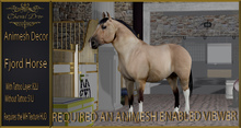 Cheval D'or - Animesh Decor -  Fjord Horse.