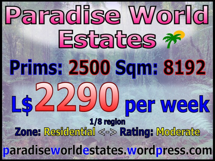 Paradise World Estates - Residential Land - Tamia - Land For Sale - Land Rentals