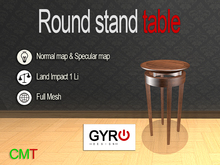 Round Stand Table V1.1*