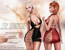 "JF Design""Anessa""[Maitreya/Belleza]Dress&Bra&Panties-Black DEMO"