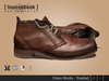 Leather Boots - Draco - Toasted
