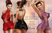 "JF Design""Corina"" [Maitreya/Belleza] Jumpsuit - Black"