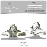 :::SOLE::: SA - SG Pad (White)