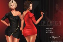 "JF Design""Angel""[Maitreya/Belleza] Mini Dress/Panties-Black"