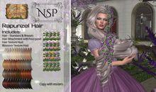 NSP Rapunzel Hair - Naturals Relaxed pkg hud