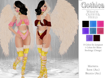 {Gothica} Wrath Outfit & Heels DEMOS