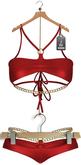 "JF Design ""Victoria"" [Maitreya/Belleza] Bikini Set-Red"