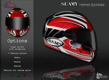 MotoDesign - Helmet Sportbike - Suamy