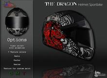MotoDesign - Helmet Sportbike - The Dragon