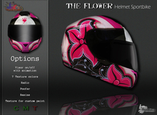 MotoDesign - Helmet Sportbike - The Flower