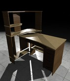 [L.W.T] Computer Desk II ❤ Full Perm