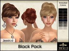 Amacci Hair ~ Jessica - Black Pack