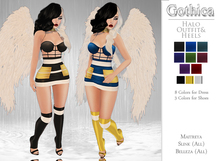 {Gothica} Halo Outfit & Heels DEMOS