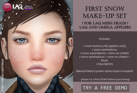 Izzie's - DEMO First Snow Make-Up Set (LAQ & Omega)