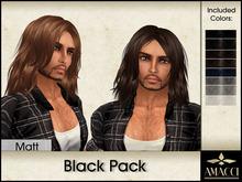 Amacci Hair ~ Matt - Black Pack