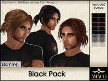 Amacci Hair ~ Daniel - Black Pack