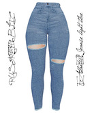 RUST REPUBLIC [Atlantis] Jeanse light blue (maitreya)