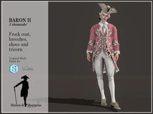 MdM - Frock Le Baron II - Colonnade Puce