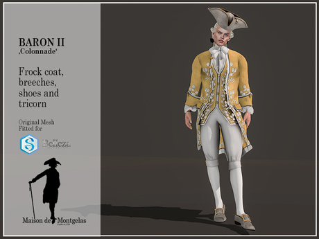 MdM - Frock Le Baron II - Colonnade Isabelle