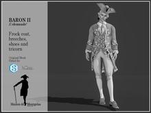 MdM - Frock Le Baron II - Colonnade Gris DEMO
