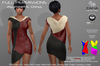 Asymmetric dress maitreya