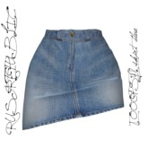 RUST REPUBLIC [OOOPSY!] Skirt Blue