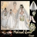 """Medieval Queen"" Medieval bridal dress TRANSFER (Boxed)"