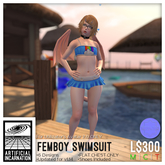 [Ai] Femboy Swimsuit