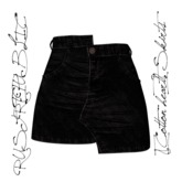 RUST REPUBLIC [Cotton heart] Skirt Black (maitreya)