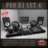 DJ SET 4 (DJ Booth)
