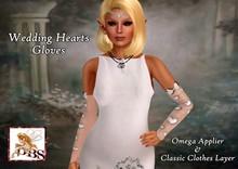 *DBS* Ladies Gloves - Wedding White