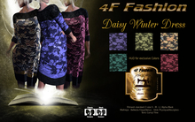 Daisy Winter Dress PROMO