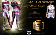 4F Fashion - Sexy Winter Outfit (wear to unpack)