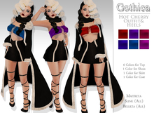 {Gothica} Hot Cherry Outfit & Scarf DEMOS