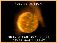 Sphere Sun Orange