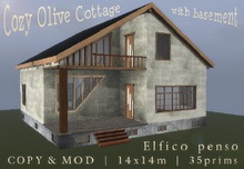 Gift! Cozy Olive Cottage with basement